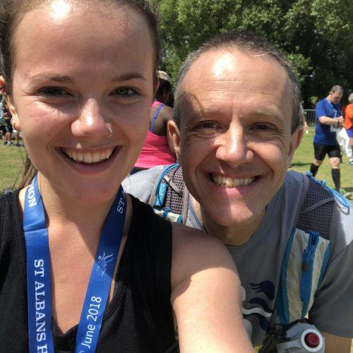 Ellie's first half marathon! St Albans Half 2018