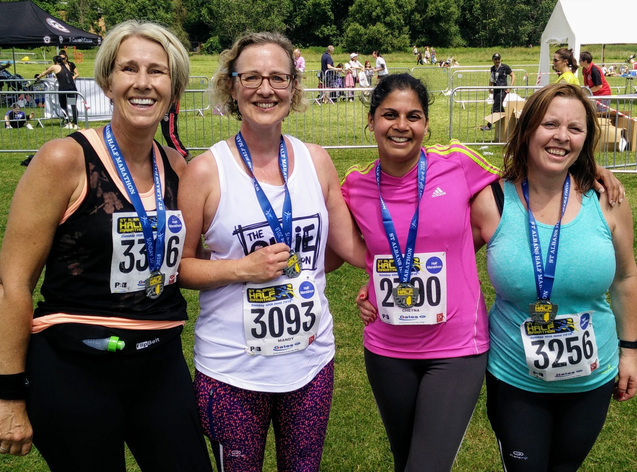 RUN Harpenden Finish Group Photo St Albans Half 2018